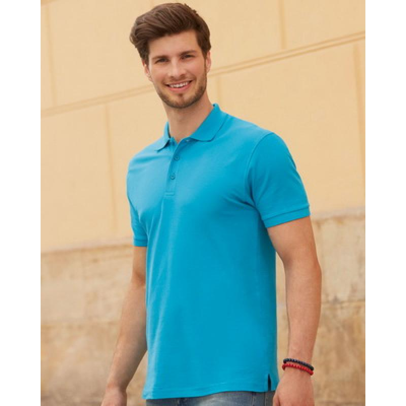 6a991011 Fruit of The Loom Premium Polo Shirt :: Polo Shirts :: JEM Promotions